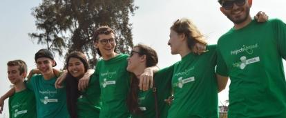Young high school students enjoying a Projects Abroad volunteering holiday for teenagers in Senegal.